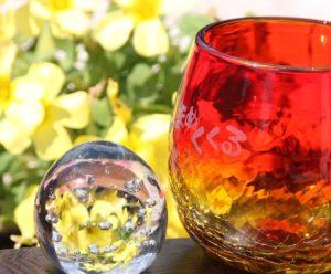 琉球グラス(オレンジ)